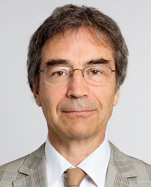 Stiftungsratspräsident Carlo Galmarini