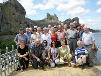 Gruppenfoto von der Reise in den Nordosten Brasiliens.