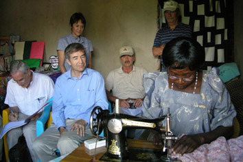 Foto von der Schulungsreise in Uganda.